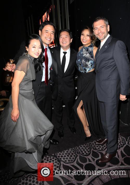 Diana Bang, Randall Park, Ken Jeong, Jeannie Mai and Laurent Cutier 3