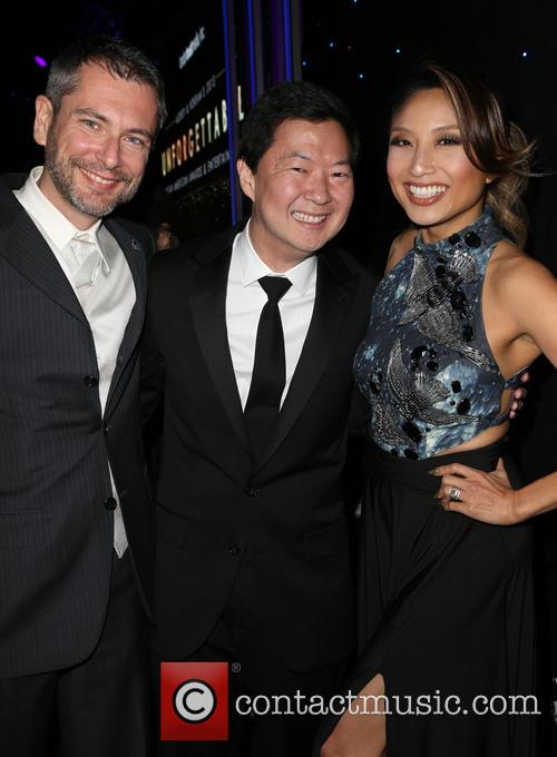 Laurent Cutier, Ken Jeong and Jeannie Mai 1