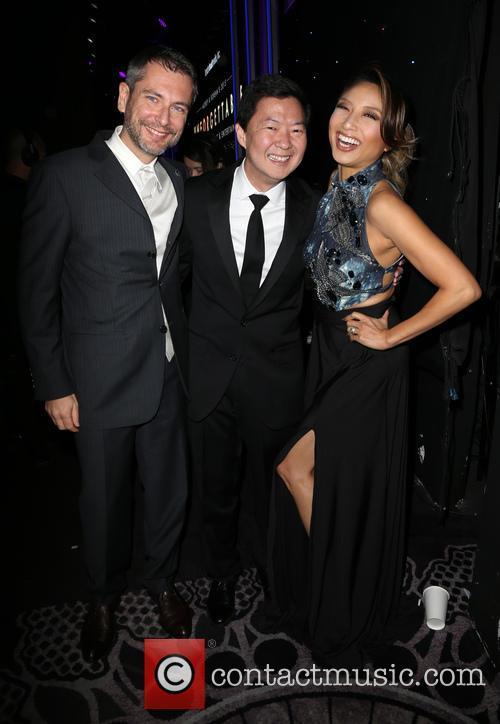 Laurent Cutier, Ken Jeong and Jeannie Mai 2