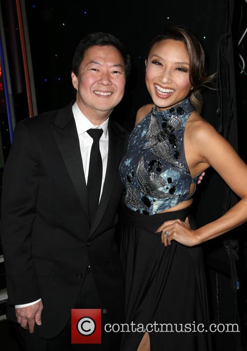 Ken Jeong and Jeannie Mai 11