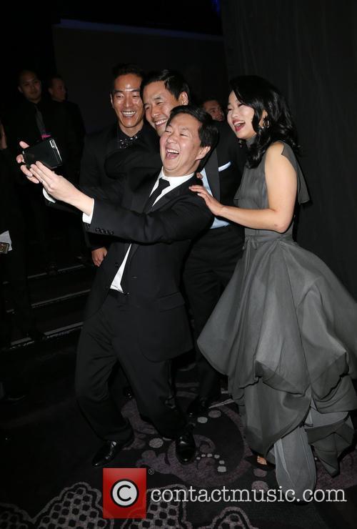Leonardo Nam, Randall Park, Ken Jeong and Diana Bang 3
