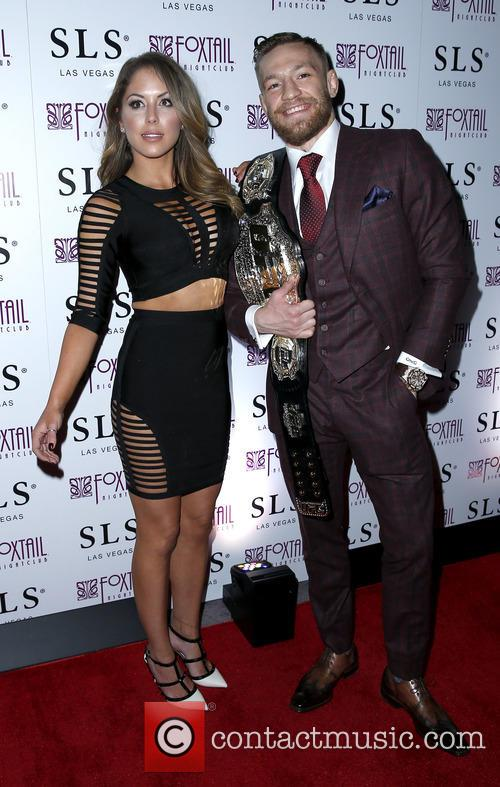 Brittney Palmer and Conor Mcgregor 1