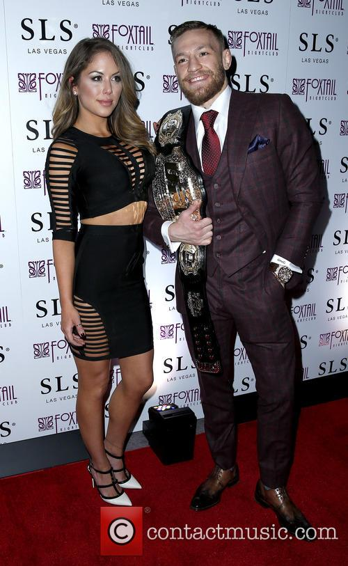 Brittney Palmer and Conor Mcgregor 2