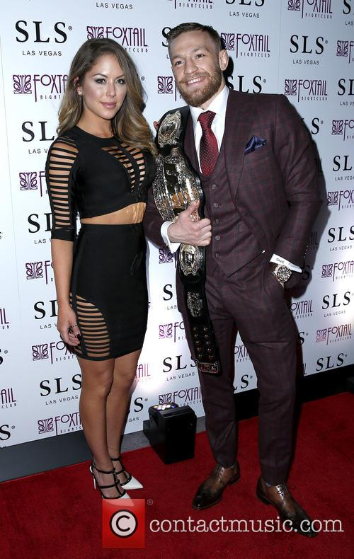 Brittney Palmer and Conor Mcgregor 3
