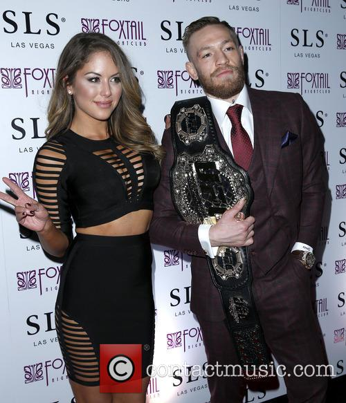 Brittney Palmer and Conor Mcgregor 4