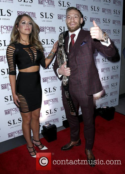 Brittney Palmer and Conor Mcgregor 5
