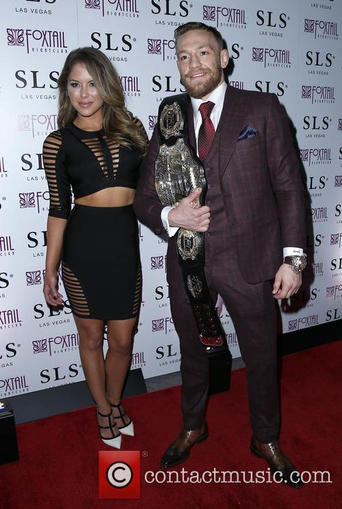 Brittney Palmer and Conor Mcgregor 6