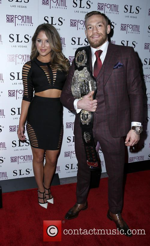 Brittney Palmer and Conor Mcgregor 7