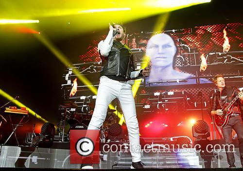 Duran Duran and Simon Le Bon 9