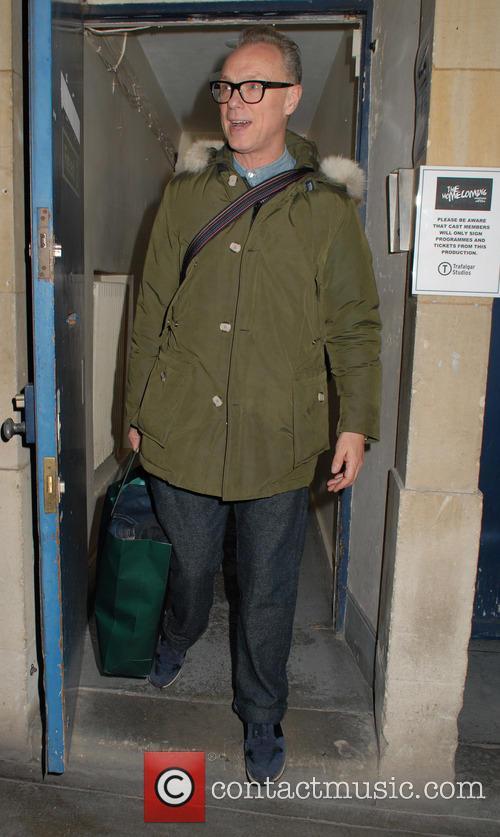 Gary Kemp leaves the Trafalgar Studios