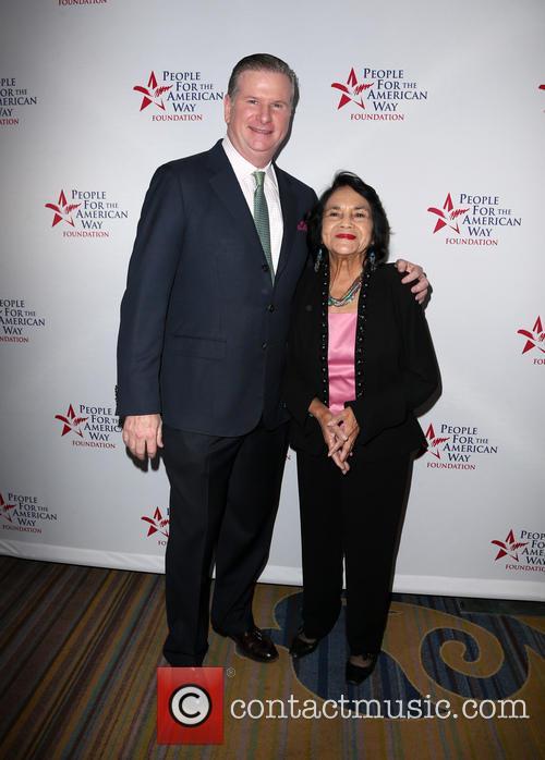 Michael Keegan and Dolores Huerta 5
