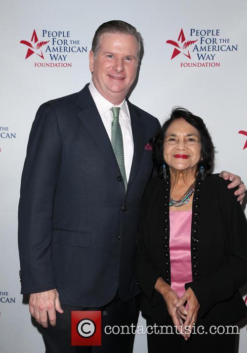 Michael Keegan and Dolores Huerta 6