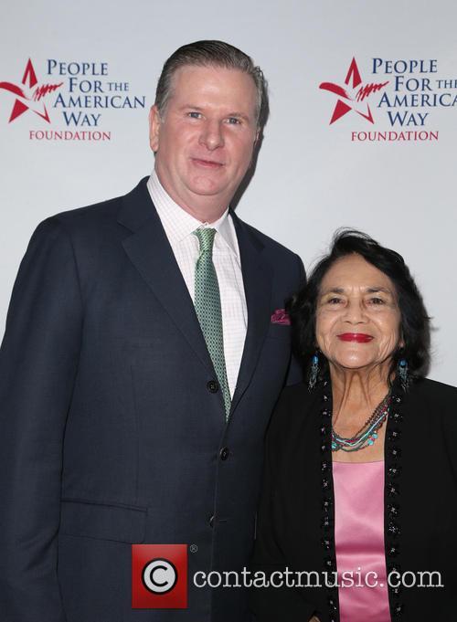 Michael Keegan and Dolores Huerta 7