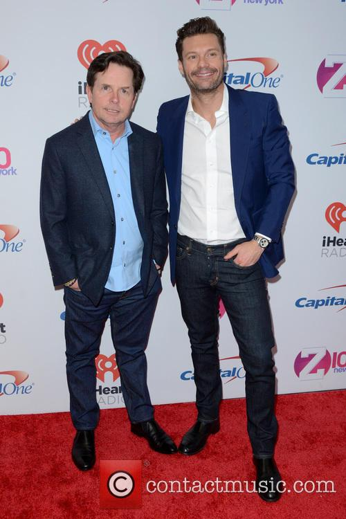 Michael J. Fox and Ryan Seacrest