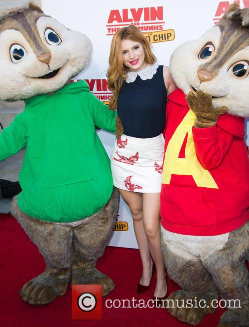 Bella Thorne, Alvin and The Chipmunks 1