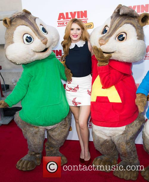 Bella Thorne, Alvin and The Chipmunks 3