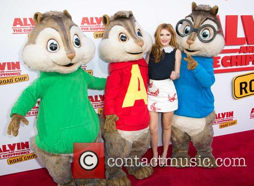 Bella Thorne, Alvin and The Chipmunks 4