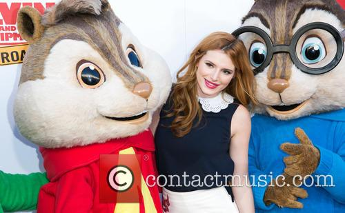 Bella Thorne, Alvin and The Chipmunks 8