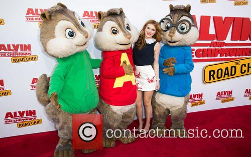 Bella Thorne, Alvin and The Chipmunks 9
