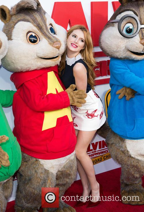 Bella Thorne, Alvin and The Chipmunks 11