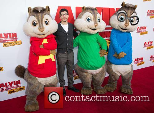 Justin Long, Alvin and The Chipmunks 11