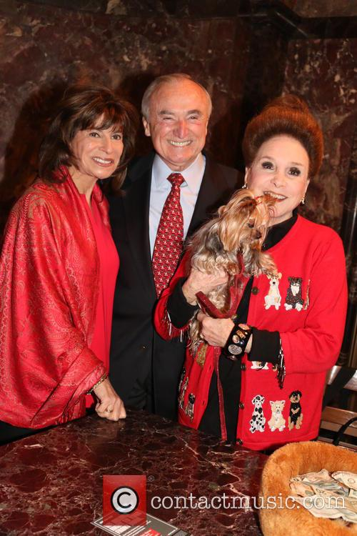 Rikki Klieman, Bill Bratton and Cindy Adams 2