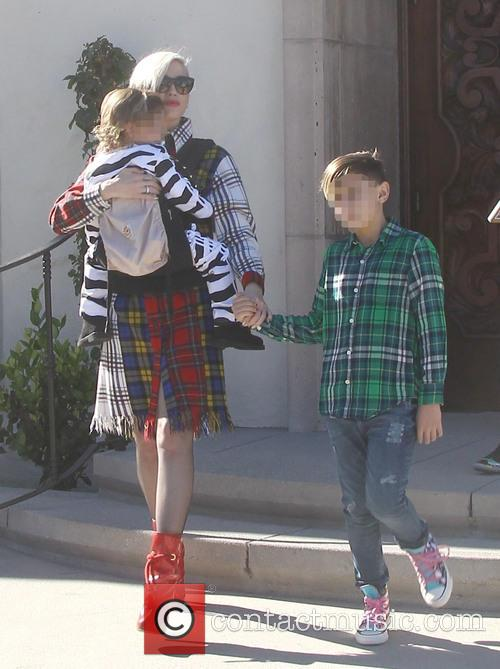Gwen Stefani, Apollo Rossdale and Kingston Rossdale 6