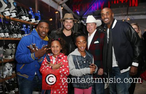 Jamie Foxx, Dave Osokow, Dave Brown, Annalise Bishop and Guests 4