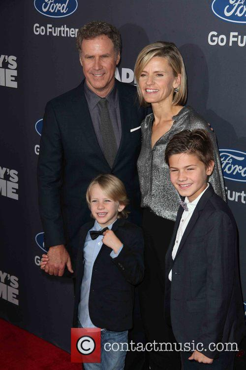 Will Ferrell and And Family 6