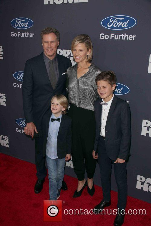 Will Ferrell and And Family 7
