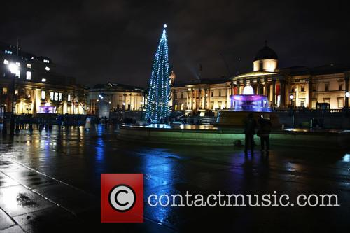 Trafalgar Square Christmas Tree 3
