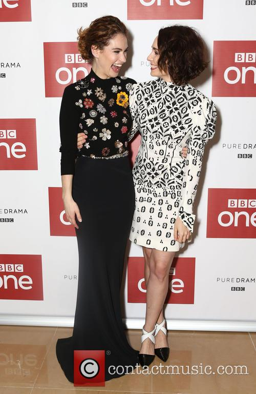 Lily James and Tuppence Middleton 8