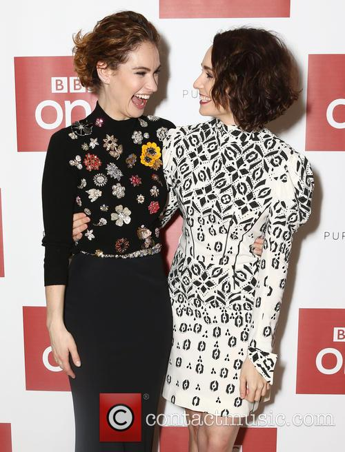 Lily James and Tuppence Middleton 9