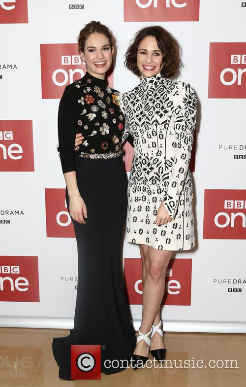 Lily James and Tuppence Middleton 10