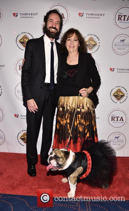 Jason B. Hurwitz, Laurette Richin and Josie The Bulldog 3