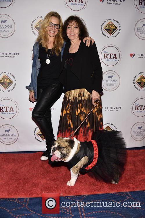 Cat Greenleaf, Laurett Richin and Josie The Bulldog 2