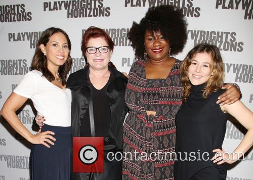 Elizabeth Rodriguez, Kate Mulgrew, Adrienne C. Moore and Yael Stone 1