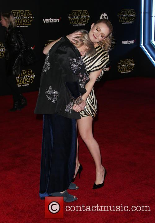 Carrie Fisher and Billie Lourd 2