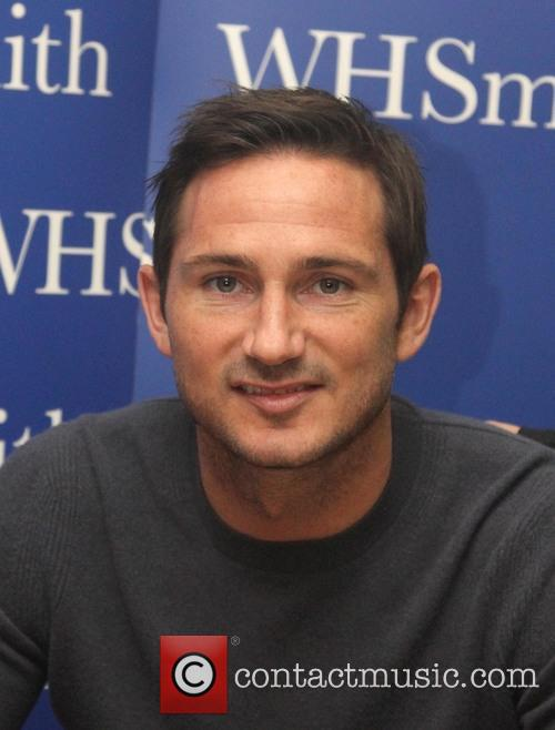 Frank Lampard at a book signing in Kingston...