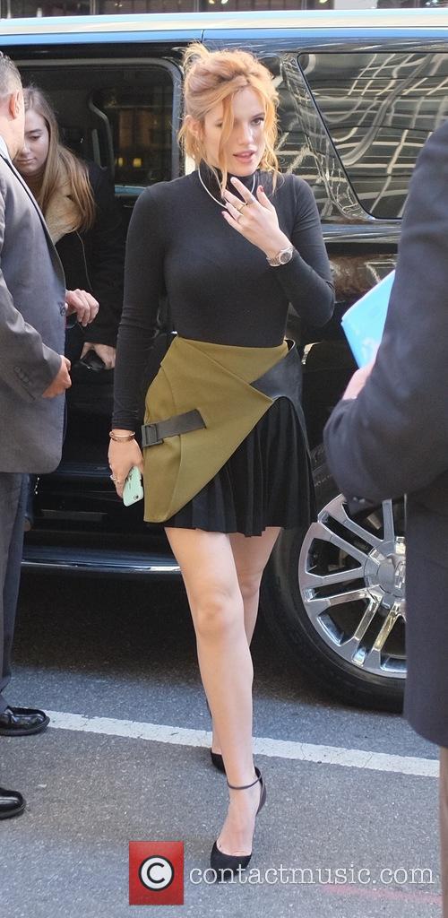 Bella Thorne in Midtown Manhattan