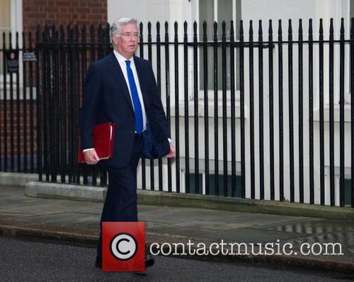 Michael Fallon Mp and Secretary Of State For Defence 1