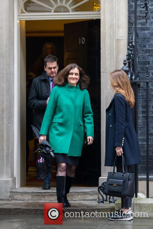 Theresa Villiers Mp and Secretary Of State For Northern Ireland. 1