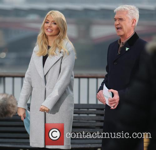 Holly Willoughby and Philip Schofeild 1