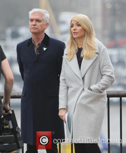 Holly Willoughby and Philip Schofeild 7
