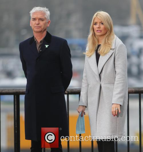 Holly Willoughby and Philip Schofeild 8