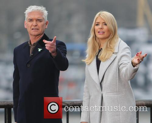 Holly Willoughby and Philip Schofeild 9