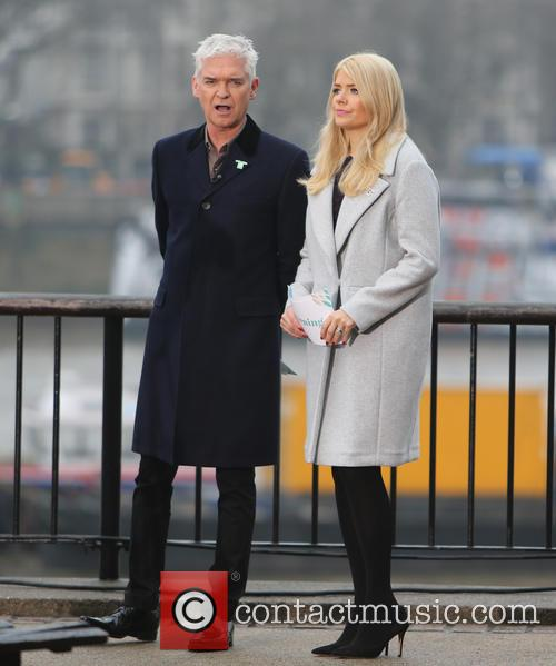 Holly Willoughby and Philip Schofeild 11