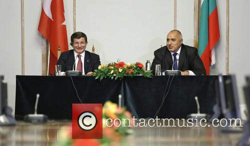 Boiko Borisov and Ahmet Davutoglu 2