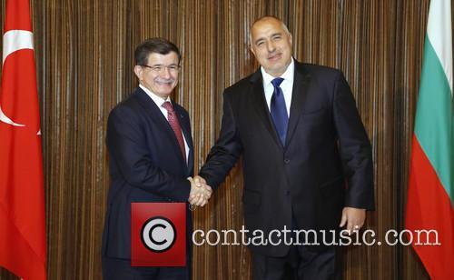Boiko Borisov and Ahmet Davutoglu 4