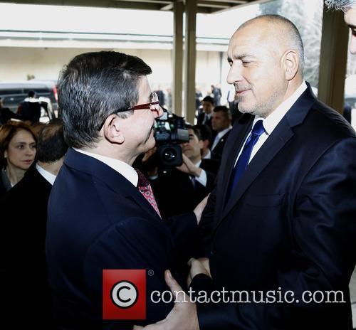 Boiko Borisov and Ahmet Davutoglu 5